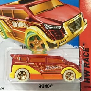 Hộp đựng xe Hot Wheels SpeedBox