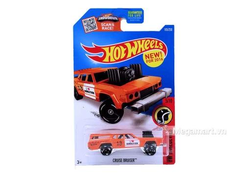 Hình ảnh vỏ hộp bộ Hot Wheels Cruise Bruiser