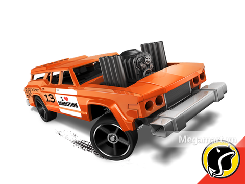 Hot Wheels Cruise Bruiser - đồ chơi cho bé yêu xe