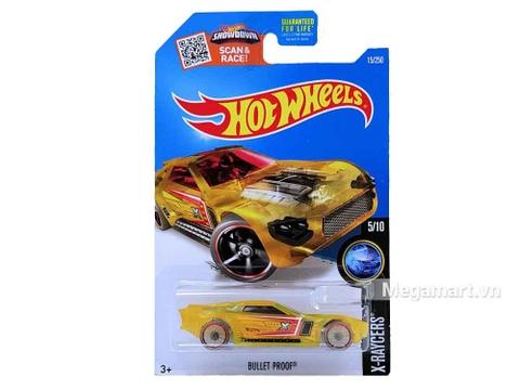 Hình ảnh vỏ hộp bộ Hot Wheels Bulletproof