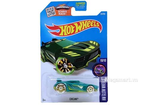 Hình ảnh vỏ hộp bộ Hot Wheels Chicane