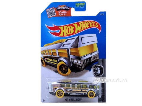 Hot Wheels Hot Wheels High - mẫu xe buýt mới