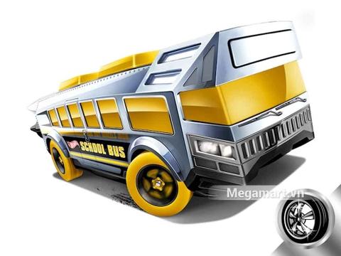 Hot Wheels Hot Wheels High - mô hình xe phá cách