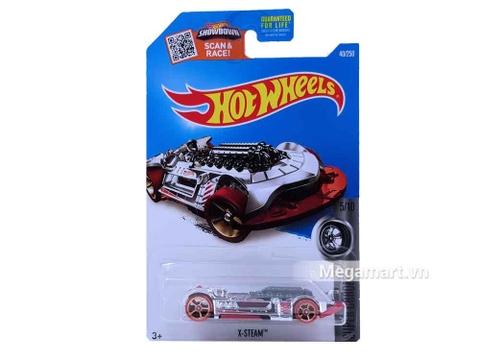 Hình ảnh vỏ hộp bộ Hot Wheels X-Steam
