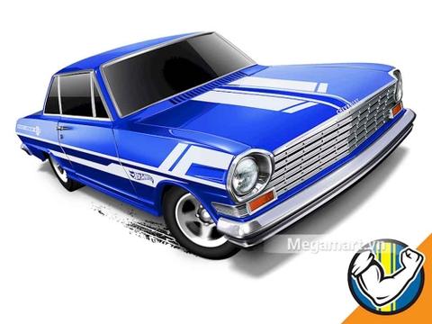 Hot Wheels '63 Chevy II - đồ chơi cho bé yêu xe