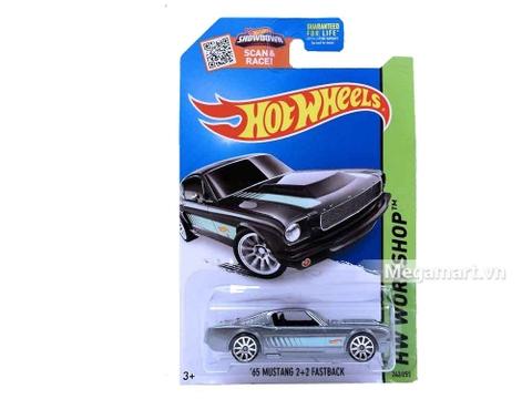 Hot Wheels 65 Mustang 2+2 Fastback - mô hình xe mới