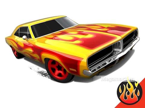 Hot Wheels '69 Dodge Charger - mùa hè rực rỡ cùng mẫu xe