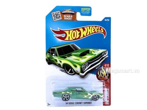 Hình ảnh vỏ hộp bộ Hot Wheels '69 Dodge Coronet Superbee
