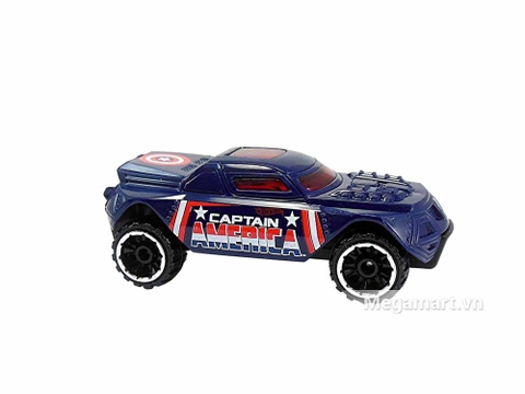 Hot Wheels Captain America RD-08 nổi bật