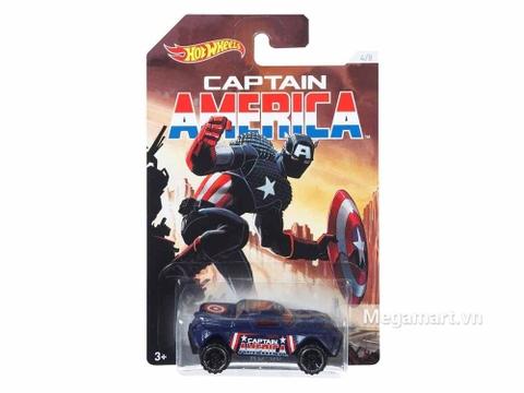 Hot Wheels Captain America RD-08 chính hãng