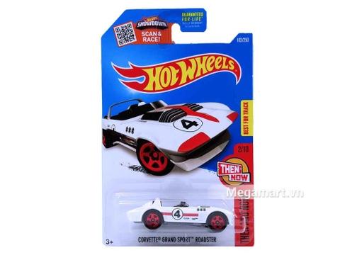 Hot Wheels Corvette Grand Sport Roadster - mẫu xe thể thao, khỏe khoắn