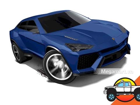 Hot Wheels Lamborghini Urus - mẫu xe dành cho các bé trai