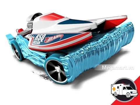 Hot Wheels Mad Splash - cận cảnh mô hình