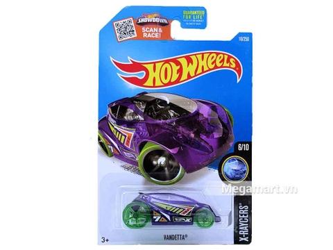 Hot Wheels Vandetta - mô hình xe độc đáo