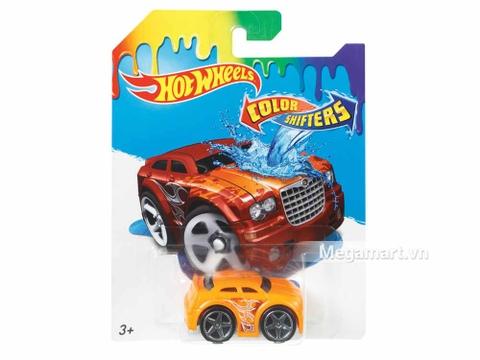 Hình ảnh vỏ hộp bộ Hot Wheels Xe đổi màu Chrysler 300C Bling