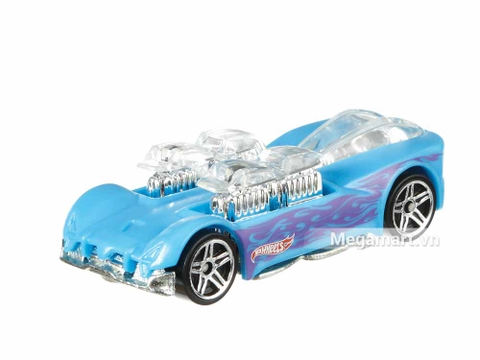 Hot Wheels Xe đổi màu What-4-2 - mẫu xe xanh ngọc bích mới nhất