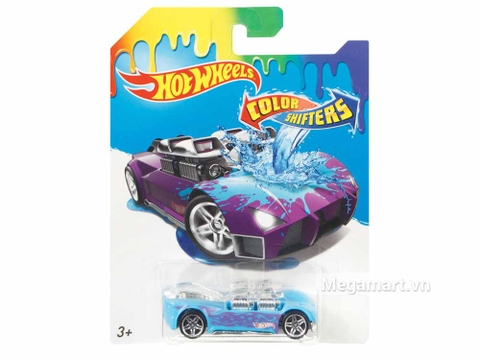 Hình ảnh vỏ hộp bộ Hot Wheels Xe đổi màu What-4-2