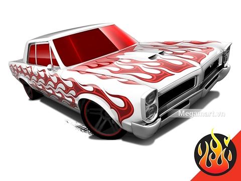 Những đặc biệt trong thiết kế của Hot Wheels 65 Pontiac GTO