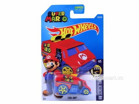 Vỏ hộp Hot Wheels Cool-one