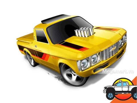 Hot Wheels Custom 72 Chevy Luv - đồ chơi cho bé yêu xe