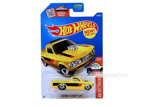Hot Wheels Custom 72 Chevy Luv - ảnh bìa sản phẩm