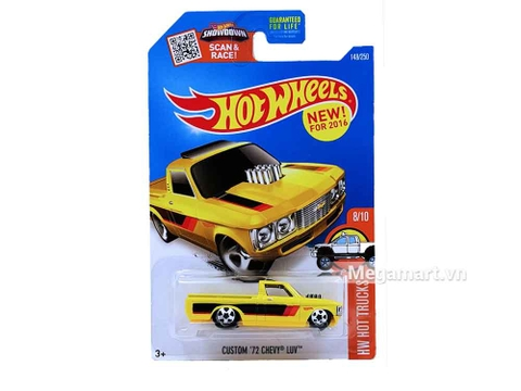Hình ảnh vỏ hộp bộ Hot Wheels Custom 72 Chevy Luv