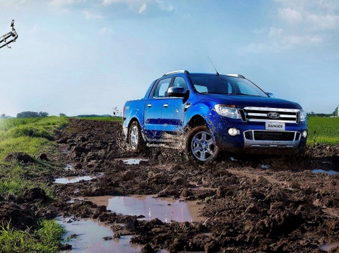 Ford Ranger Wiltrak 3.2L mạnh mẽ