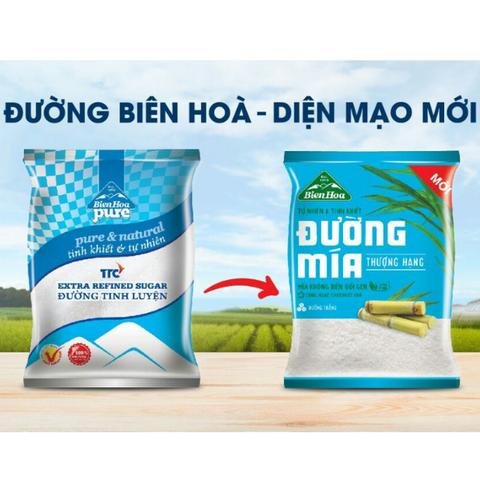 Đường tinh luyện Biên Hòa Pure 1kg 8935015510447