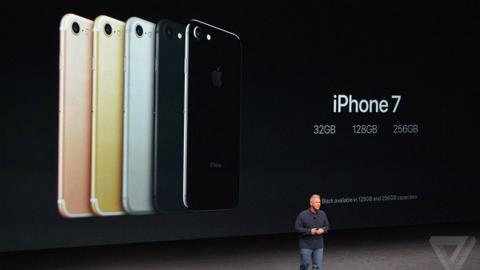 Apple ra mắt iPhone 7 chống nước, camera kép siêu nét