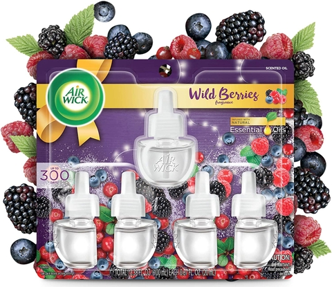 Tinh Dầu Cắm Điện  Airwick  Scented Oil Wild Berries