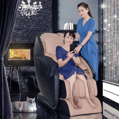 Ghế Massage 4D Black Diamond Buheung MK-5600