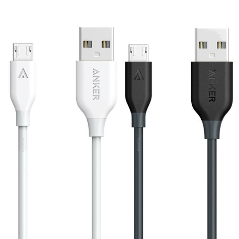 Cáp Anker PowerLine MicroUSB (1ft/0.3m)