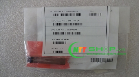 SFP Cisco SFP-10G-ZR for SMF 1550-nm LC duplex 80km