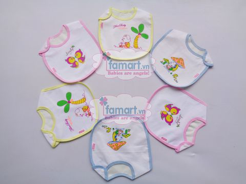 Yếm khuy Baby MT cotton