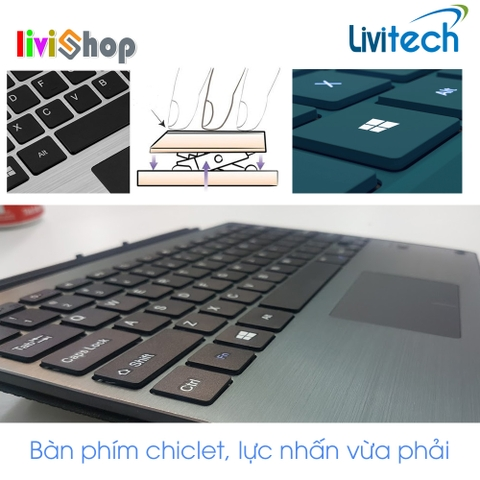 Bàn phím Bluetooth Type Cover Livitech cho Surface Pro3 / Pro 4
