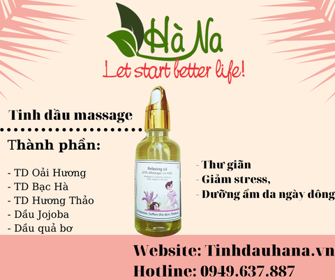 Dầu Massage Relaxing Oil
