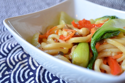 86. Udon with Vegetable