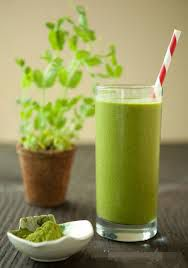 406. Green Tea Smoothie