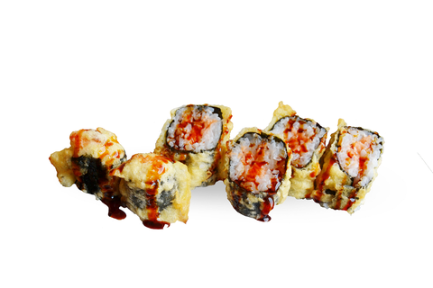 54 Fried Maki Salmon Cheese