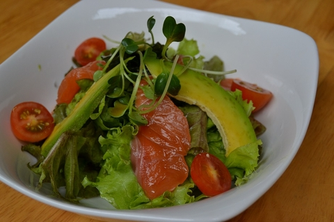 S1. Salmon Avocado Salad