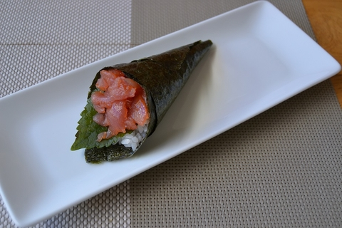 T4. Spicy Tuna Temaki