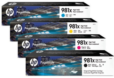 Mực In HP 981X High Yield Black Original Pagewide Cartridge