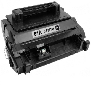 Mực in HP 81A Black Original LaserJet Toner Cartridge (CF281A)