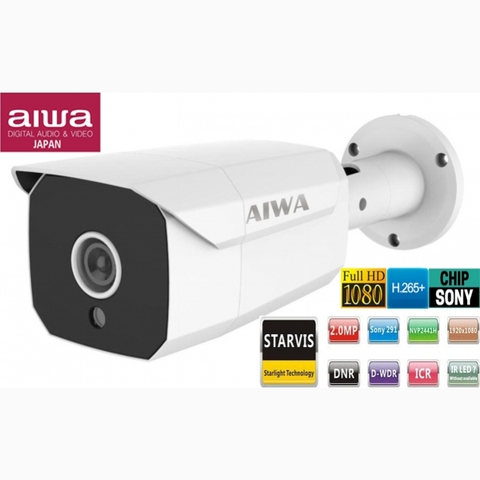 CAMERA IP AIWA STARLIGHT 2.0 MEGAPIXEL AW-IW6306MFIP27WS CHIP SONY