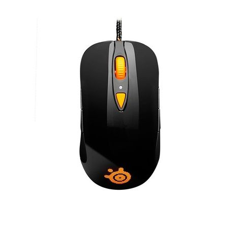 Chuột SteelSeries Sensei RAW Heat Orange Edition