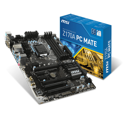 Mainboard MSI Z170A PC MATE