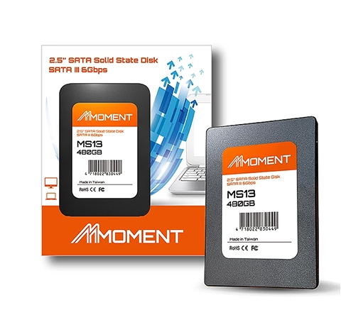 SSD MOMENT MS13 - SATA III 120GB / 240GB / 480GB