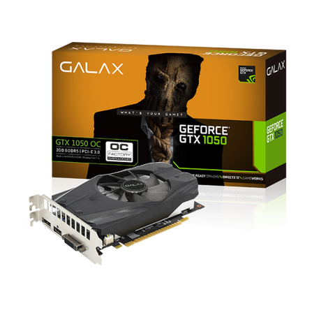 Vga Galax Geforce GTX 1050 2GB OC