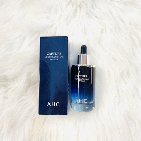 Serum AHC Capture Moist Solution Max Ampoule 50ml – Màu Xanh