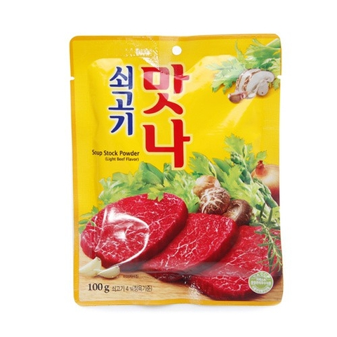 Hạt nêm bò Matna 100gr (gói) - Soup Stock Powder Light Beef Flavor
